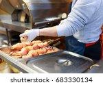 street food restaurant...   Shutterstock . vector #683330134