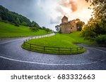 vaduz castle  the official... | Shutterstock . vector #683332663