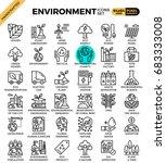 environment   eco concept... | Shutterstock .eps vector #683333008