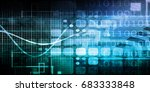 disruptive technology and... | Shutterstock . vector #683333848