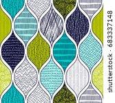 seamless pattern  patchwork... | Shutterstock .eps vector #683337148