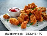 Fried Crispy Chicken Nuggets...