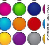 colorful pattern circle | Shutterstock .eps vector #683349229
