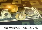 cryptocurrency bitcoin ... | Shutterstock . vector #683357776