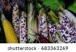Variety Of Corns.