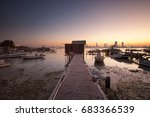 the jetty | Shutterstock . vector #683366539