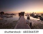 the jetty | Shutterstock . vector #683366539