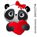 design greeting card for... | Shutterstock .eps vector #683412748