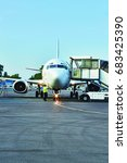 Small photo of Aircraft maintenance, Airlift,Arrival