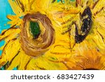 Sunflowers In Impressionism...
