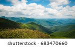 Small photo of Blue Ridge Mountains from Craggy Gardens
