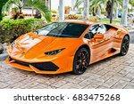 miami  florida  usa february 19 ... | Shutterstock . vector #683475268