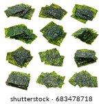 Sheet Of Dried Seaweed  Crispy...