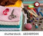 plush fabric is plentiful. the...   Shutterstock . vector #683489044