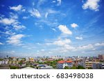 aerial view of dramatic... | Shutterstock . vector #683498038