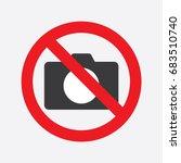 No Photo Camera Sign.no...