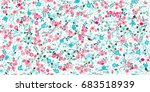 elegant gentle trendy pattern... | Shutterstock .eps vector #683518939