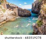 gagliano del capo  italy   july ... | Shutterstock . vector #683519278