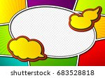 vector mock up of a typical... | Shutterstock .eps vector #683528818
