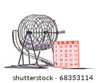 Game of Bingo - stock photo