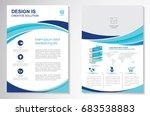 template vector design for... | Shutterstock .eps vector #683538883
