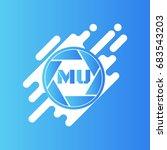 mu logo | Shutterstock .eps vector #683543203