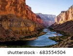colorado river from nankoweap... | Shutterstock . vector #683554504