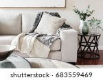textured layers interior... | Shutterstock . vector #683559469