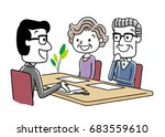 contract  consultation  meeting | Shutterstock .eps vector #683559610