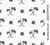 seamless pattern background... | Shutterstock .eps vector #683559934