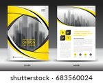 annual report brochure flyer... | Shutterstock .eps vector #683560024