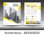 annual report brochure flyer... | Shutterstock .eps vector #683560030
