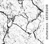 black and white grunge.... | Shutterstock . vector #683581648