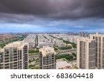 xiamen binhai new town   Shutterstock . vector #683604418