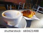 Coffee And Brioche In Italy