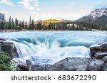 the full water bubbling...   Shutterstock . vector #683672290
