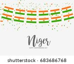 niger independence day... | Shutterstock .eps vector #683686768