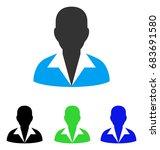 clerk vector pictogram. style...   Shutterstock .eps vector #683691580