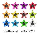 Full Color Gold Star Icons....