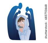 social anxiety disorder  social ...   Shutterstock .eps vector #683753668