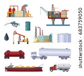 oil exploration. petroleum...   Shutterstock .eps vector #683759050