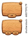 different wooden panels for...