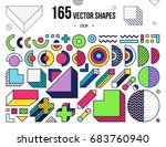 mega collection with design... | Shutterstock .eps vector #683760940