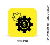 gears icon ui vector eps jpg...