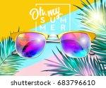 minimal fashion vector design.... | Shutterstock .eps vector #683796610