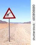 Animal Warning Sign For...