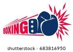 vector vintage logo for a... | Shutterstock .eps vector #683816950