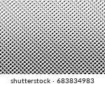 abstract halftone backdrop in... | Shutterstock . vector #683834983