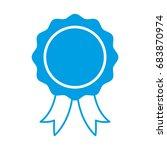 medal icon | Shutterstock .eps vector #683870974