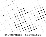 abstract halftone dotted... | Shutterstock .eps vector #683901598